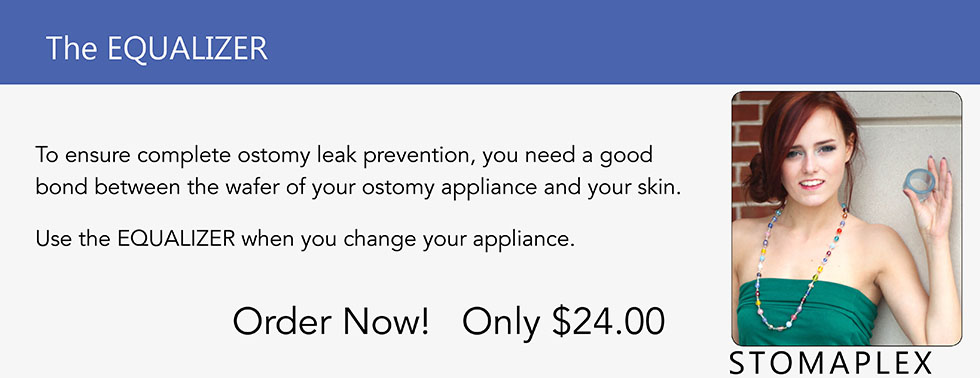Stop Ostomy Leaks with the Stomaplex Equalizer.