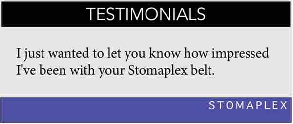 Ostomy Belt Testimonials