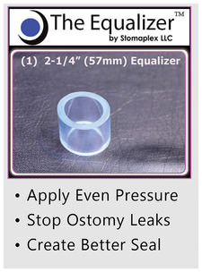 Stomaplex Ostomy Belt and Stomaplex Stoma Guard and Stomaplex Equalizer. Stop Ostomy Leaks - Prevents leaks around the stoma of an ostomy
