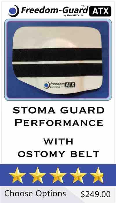 Stomaplex Stoma Guard: Freedom-Guard ATX Stoma Guard.